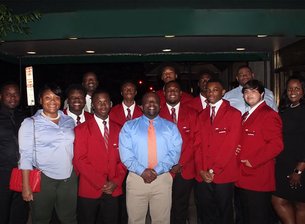 Dow Leadership Academy participates from Louisiana