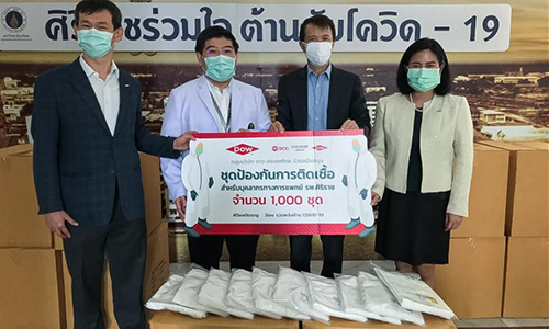Dow employees donating locally in Thailand