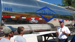Tank Truck with instructor